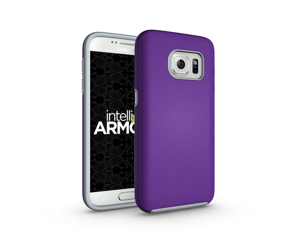 Samsung Galaxy S7 Sentry Case - Purple/Gray
