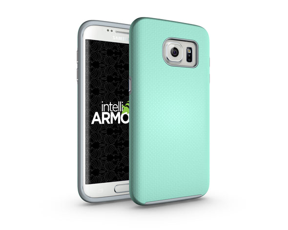 Samsung Galaxy S7 Edge Sentry Case - Aqua/Gray