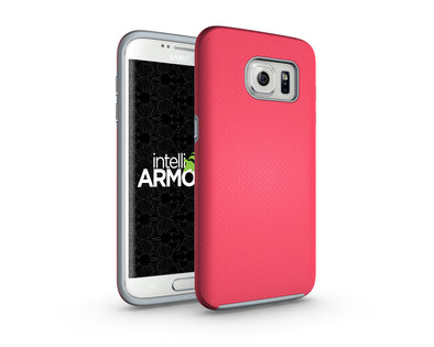 Samsung Galaxy S7 Edge Sentry Case - Pink/Gray