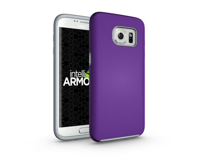 Samsung Galaxy S7 Edge Sentry Case - Purple/Gray