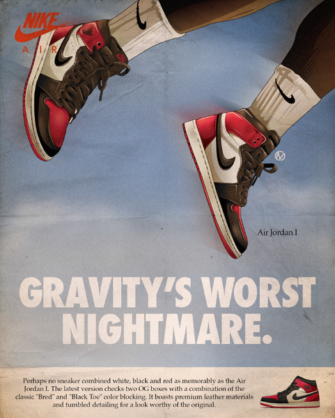 "Christopher Mineses - ""Gravity's Worst Nightmare"" - Print"