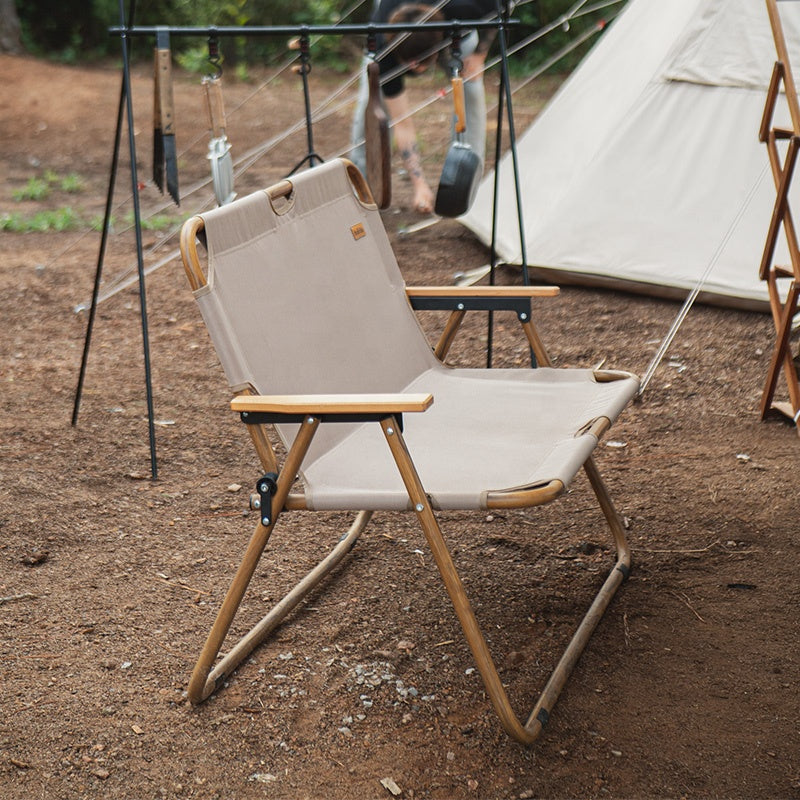 Naturehike Outdoor Furniture Double Seats Wood Camping Chair Nh20jj002 Naturehike Official Store
