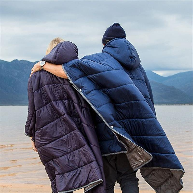 Naturehike Outdoor Camping Cloak Style Cotton Sleeping Bag