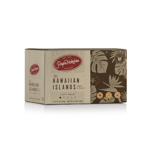 12 Count, Hawaiian Islands Single Serve Cups