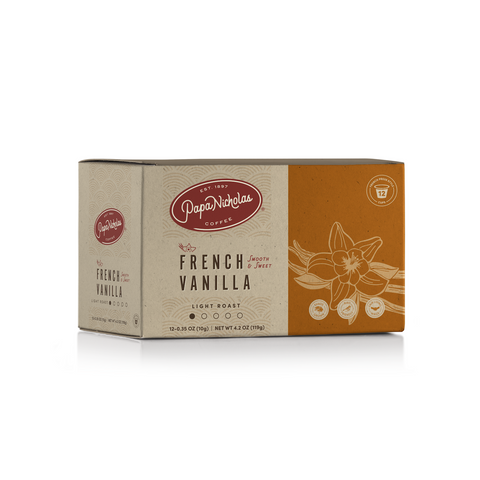 12 Count, French Vanilla Single Serve Cups