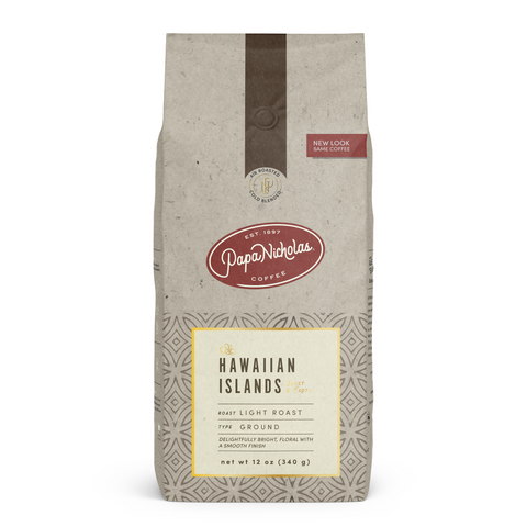 Ground, 12 Ounce Hawaiian Islands