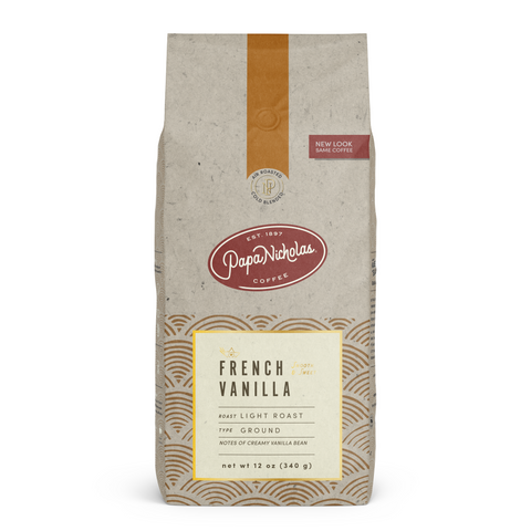 Ground, 11 Ounce French Vanilla