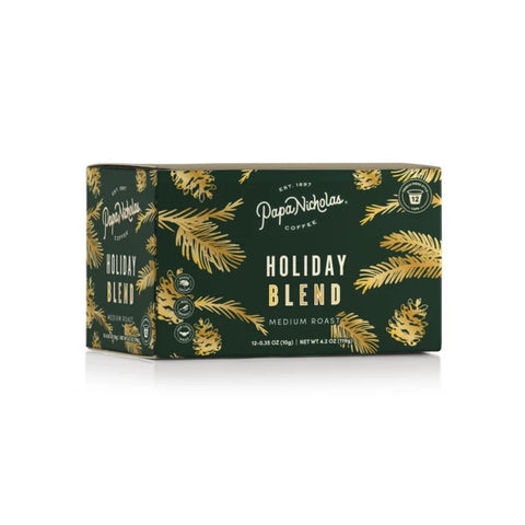 12 Count, Holiday Blend Single Serve Cups