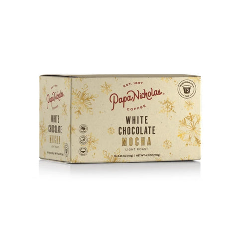 12 Count, White Chocolate Mocha Single Serve Cups