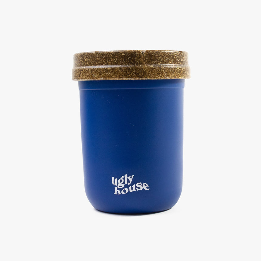 8 oz. Restash Jar- Dark Blue