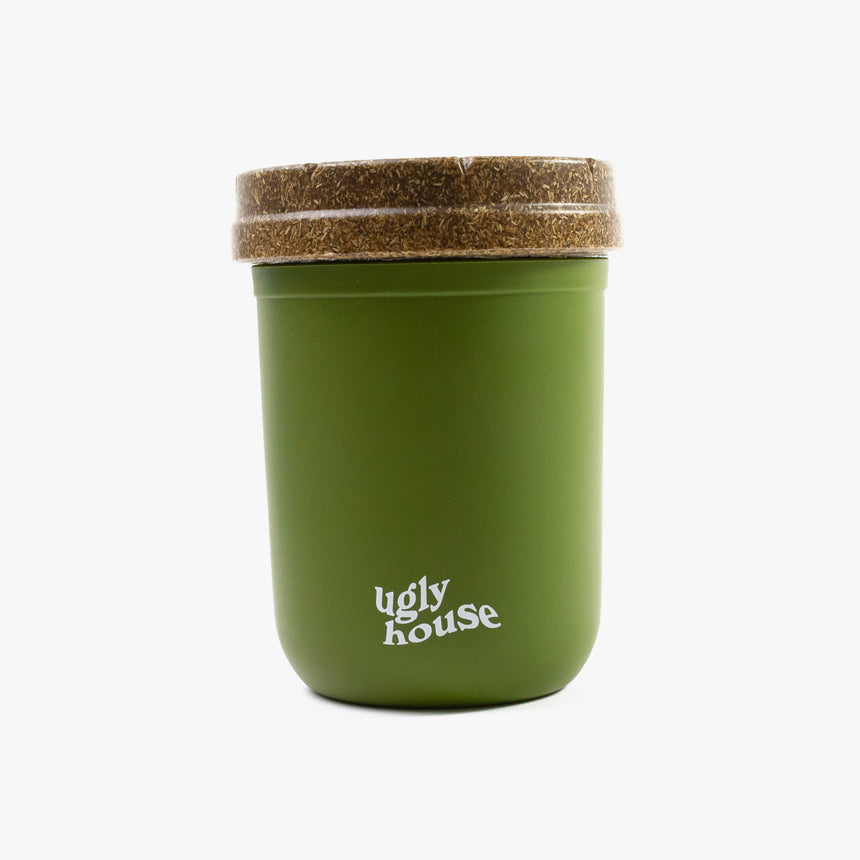 8 oz. Restash Jar- Green