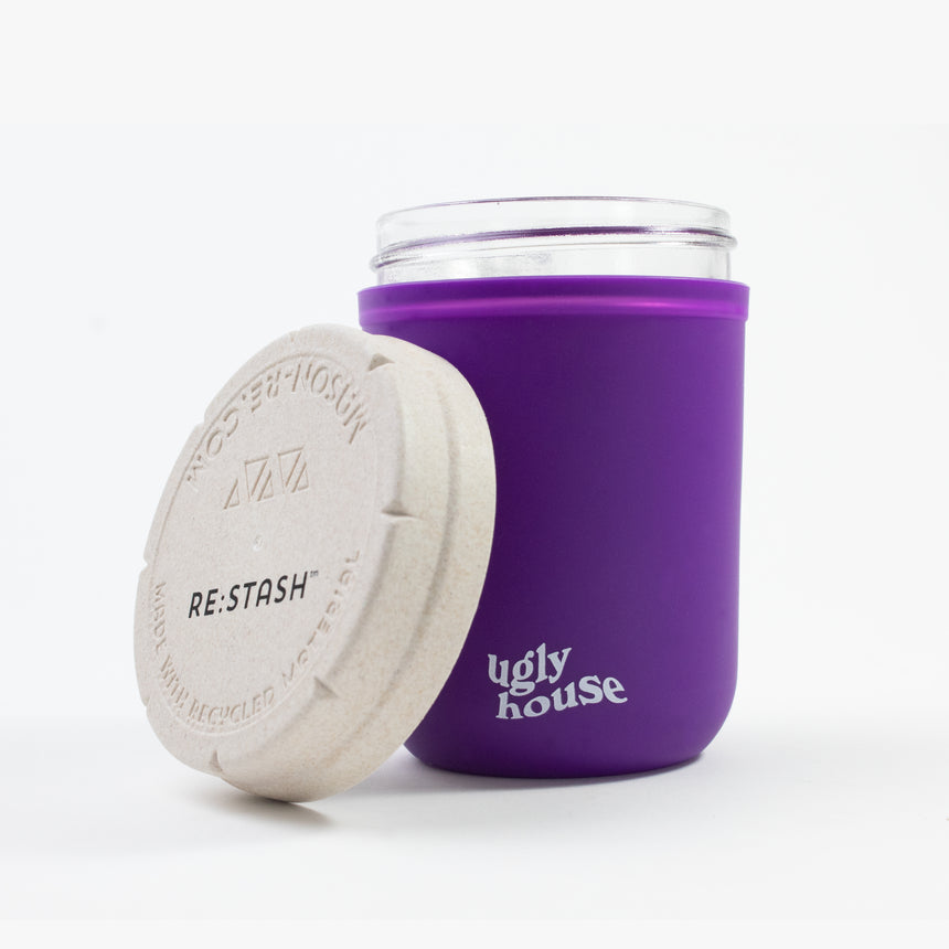 8 oz. Restash Jar- Purple