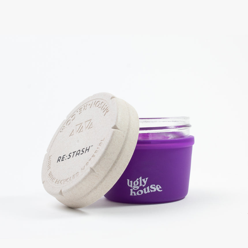 4 oz. Restash Jar- Purple