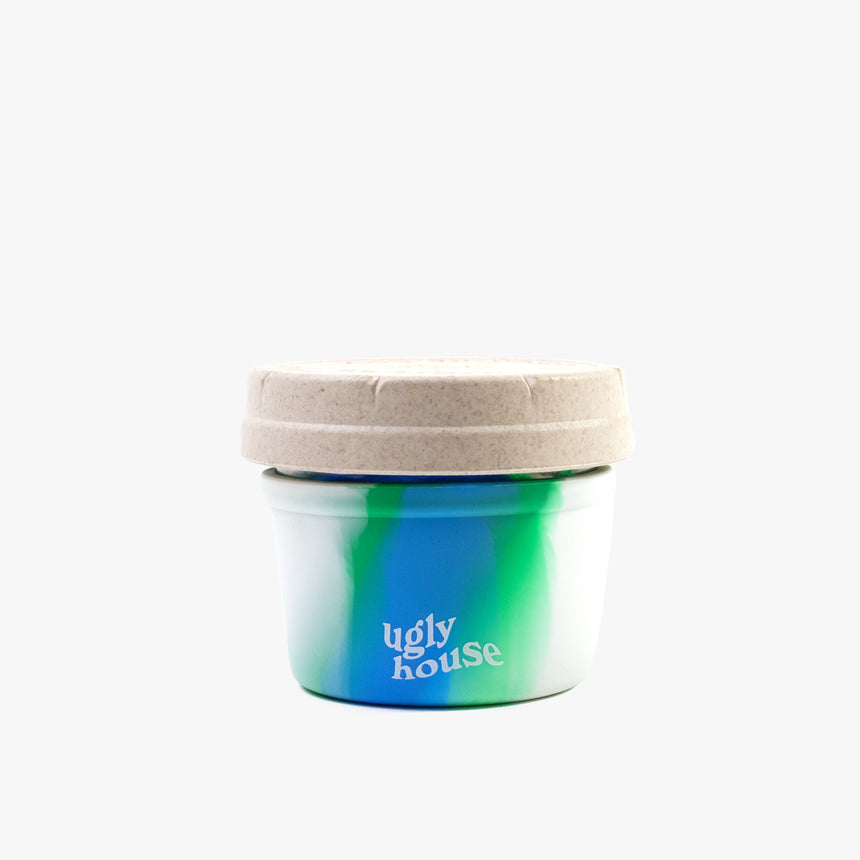 4 oz. Restash Jar- Ocean Tie Dye