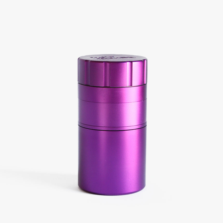 Solid Grind 'n Stash- 53mm 4 Part- Purple