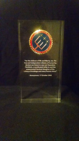 Challenge Coin Acrylic Display