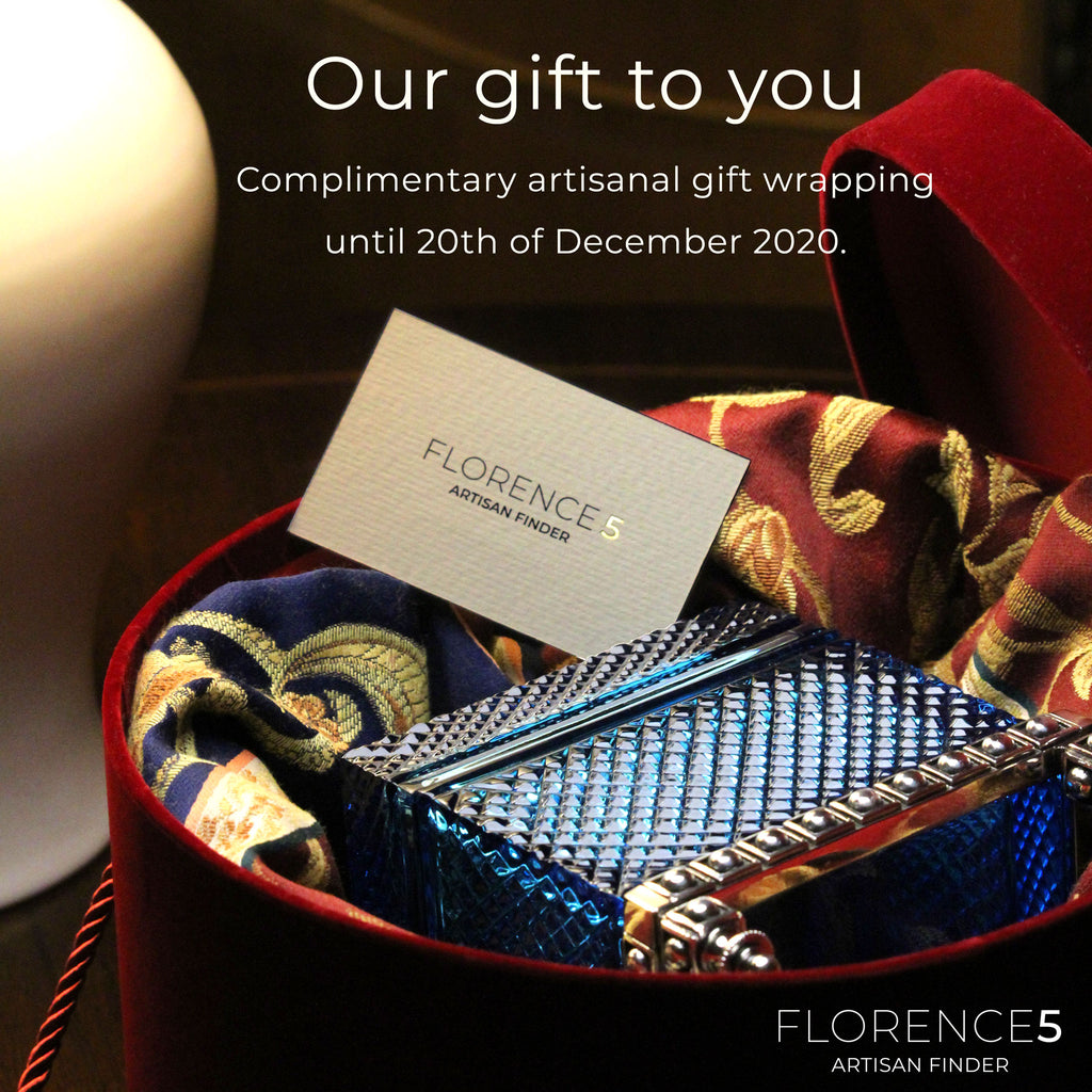 Complimentary artisanal gift wrapping