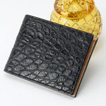 Load image into Gallery viewer, American Alligator Wallet for extra large bills - CITES certified