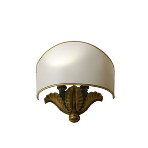 Appliqué Lamp gilded in 24K gold by Master Artisan Daniele [Made just for you - Gilded with 24K gold - Free personalization]
