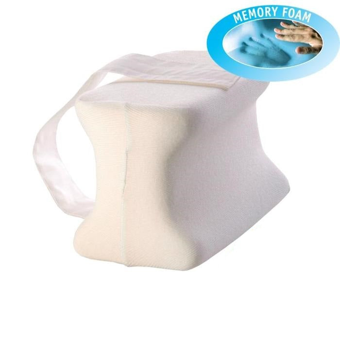 Memory Foam Knee Pillow with Adjustable Strap