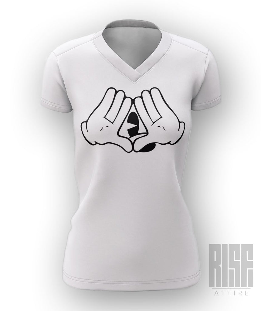 Micky Mouse Club Womens V-Neck Tee - Rise Attire