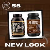 PRO BLEND 55 PROTEIN POWDER, CHOCOLATE FUDGE