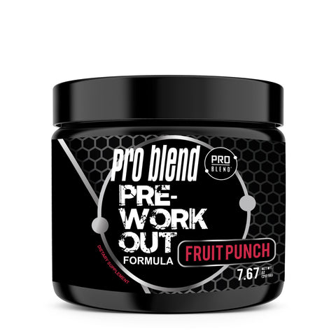 PRO BLEND PRE-WORKOUT, FRUIT PUNCH