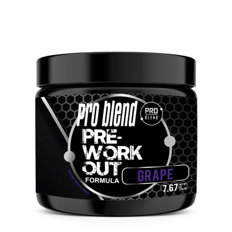 PRO BLEND PRE-WORKOUT, GRAPE