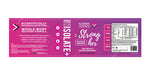 STRONG HER ISOLATE®+ HIGH QUALITY PROTEIN FOR HER, BEYOND VANILLA or BEYOND CHOCOLATE