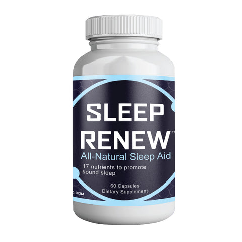 Sleep Renew, All Natural Sleep Aid, 60 capsules