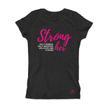 STRONG HER, HALF WOMAN, HALF WARRIOR, DELICATE AND STRONG Woman t-shirt