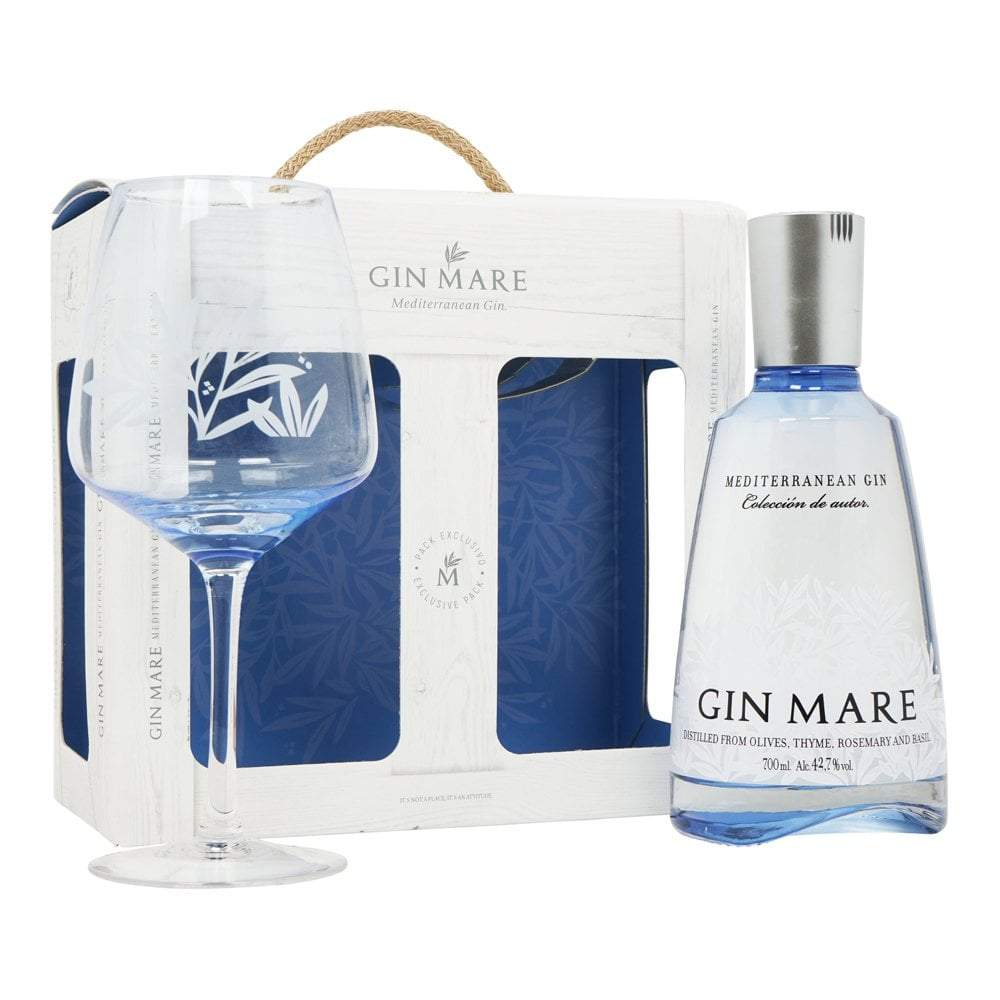 Gin Mare Mediterranean Gin Gift Set 70cl Gifts Ginmare