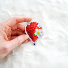 Load image into Gallery viewer, Strawberry Balloon Sticker