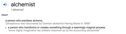 Alchemist Meaning