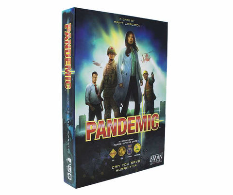 Pandemic Board Game On White Background