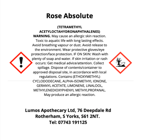 Rose Absolute Reed Diffuser CLP