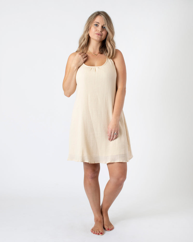 The Taupeless on the Beach Dress