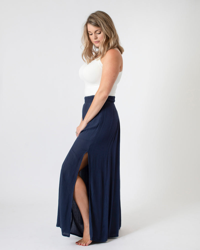 Load image into Gallery viewer, The Skinny Dip Pant in Sapphire