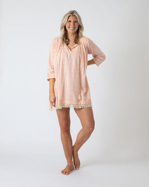 Load image into Gallery viewer, Apricot Cover Up Tunic