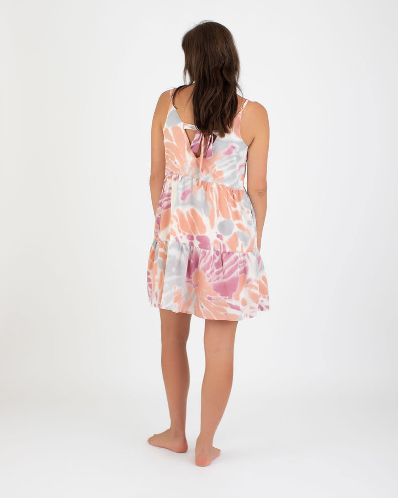 Load image into Gallery viewer, Coral Tie Dye Tiered Mini