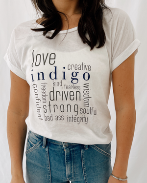 Load image into Gallery viewer, Indigo Tee
