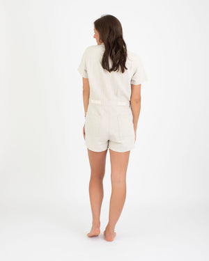 Load image into Gallery viewer, Sea Suit Shortall in Natural