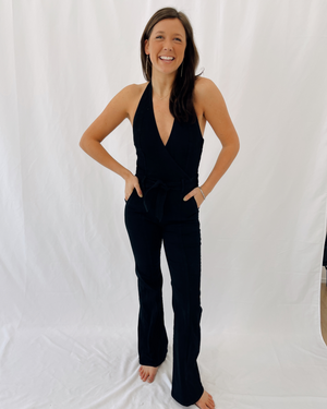 Load image into Gallery viewer, The Halter Doozy Jumpsuit