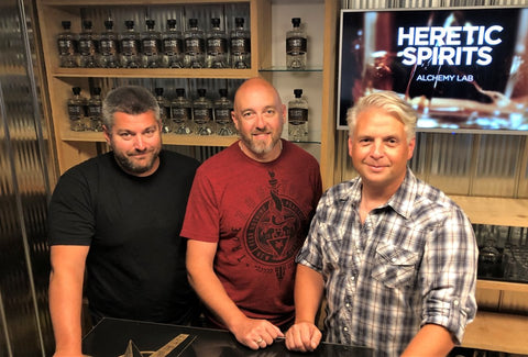 Heretic Spirits Team - Photo by Collingwood Today