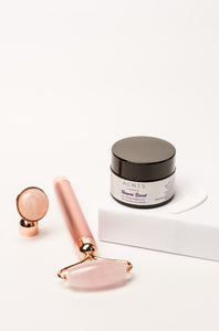 Rose Quartz Vibrating Roller