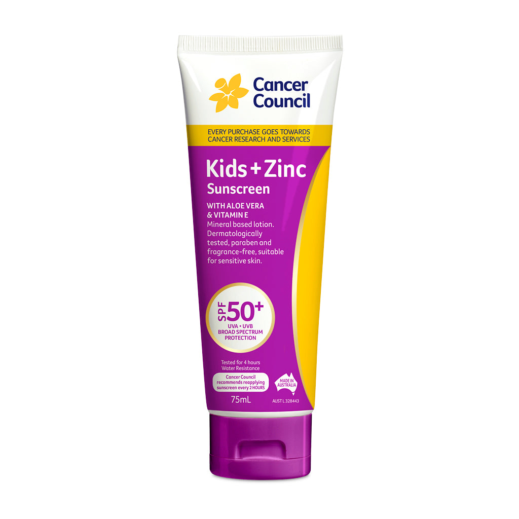Kids + Zinc Sunscreen SPF50+ 110ml