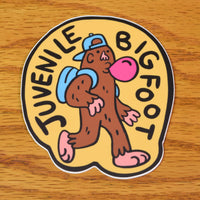 Juvenile Bigfoot Sticker