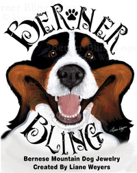 Berner Bling-Bernese Mountain Dog Jewelry
