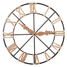 Load image into Gallery viewer, Rustic Metal Wall Art Clock