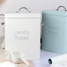 Load image into Gallery viewer, Classic Washing Powder Metallic Storage Container